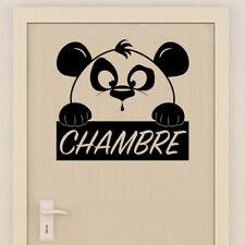 Sticker Mural Chambre Décoration Panda Mignon, 20x20 cm à 30x30 cm (PAND014)
