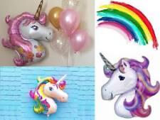 Extra Large Unicorn Foil Balloon Rainbow Fantasy Horse Birthday Party Fun Bright