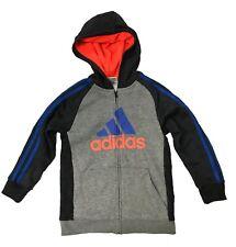 Adidas Kid's Active Wear Sweatsuit 2 piece Set Black/Heather