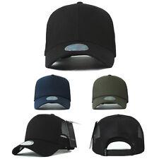 XL XXL 2XL 60~63Cm Unisex Mens Plain Summer Mesh Blank Baseball Cap Trucker Hats