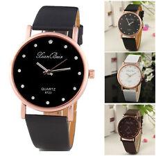 Ladies Fashion KIAN BEIX Quartz Rose Gold & Rhinestone Crystal Wrist Watch.