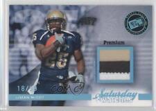 2009 Press Pass Legends Saturday Swatches Platinum Premium #SSW-LM LeSean McCoy