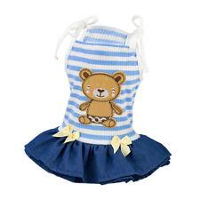 Vêtement d' Été Pet Puppy Petit Chien Vêtements Court Robe pour Petite