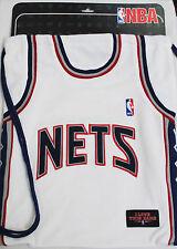 OFFICIAL NBA NETS SPURS BASKETBALL BLACK WHITE NAVY DRAWSTRING GYM PE SPORTS BAG