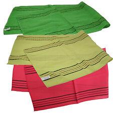 Korea Italy Exfoliating Body-Scrub Towel Long Green Red Yellow Washcloths