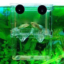 Aquarium Fish Tank Breeding Breeder Rearing Box Hatchery Case Storage Cover Tool