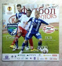 Eurocups El match programmes 2010/2011 mise à jour novembre 2017 lire description