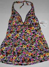 NWT Womens I.F. One-Piece Floral Swimsuit Plus Sz22W