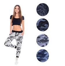 Jogging Hose Sport Hose mit Taschen Tarn-Optik, Gr. S M L XL
