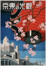 83944 Vintage Japan Japanese Tokyo Travel Decor WALL PRINT POSTER CA