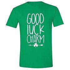 St Patricks Day shirt Shamrock Clover Charm Irish Unisex Men T-Shirt Green Tee 1