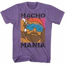 Macho Man Randy Savage Wrestling T-Shirt 100% Licensed  OH YEAH Sizes SM - 2XL