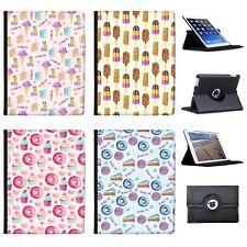 Azzumo Sweet Treats Faux Leather Case Cover / Folio for the Apple iPad