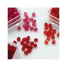 Hobby & fai da te perline diamante acrilico divertente TRIO - 4mm