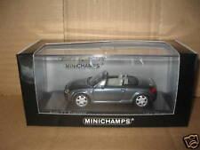MINICHAMPS AUDI TT ROADSTER 1999 GREY METALLIC 1.43