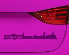 Aufkleber Wolfenbüttel mit Sehenswürdigkeiten  11 Farben 2 Größen