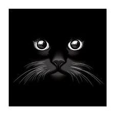 Cat Eyes Black Kitty Kitty Car Vinyl Sticker - SELECT SIZE