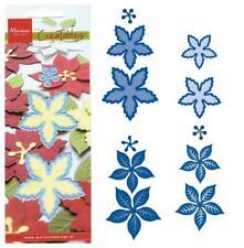 3-5 Präge- Stanzschablone BLUMEN 3D-BLÜTEN Poinsettia MARIANNE DESIGN CREATABLES