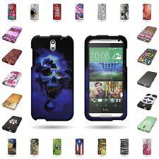 For HTC Desire 610 Case Hard Plastic Different Designs Cover