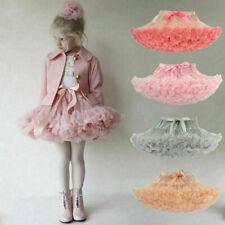 Toddler Girls Babys Pettiskirt Tutu Princess Skirt Dancewear Party Fancy Costume