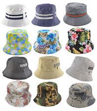 Mens Ladies Bucket Sun Festival Bucket Travel Outdoor Flower Cap Hat Boonie Camo