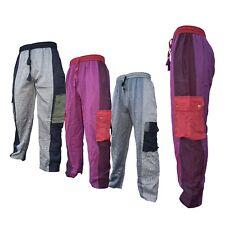 Hombre Liso Algodón de rayas INFORMAL MULTICOLOR Holgado MILITAR Pantalones