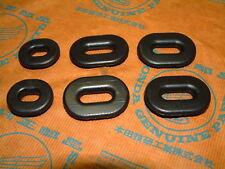 Honda CB 750 Four K7 F1 F2 Gummi Set Seitendeckel orig grommet rubber side cover