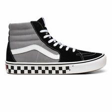 VANS - SK8 Hi ComfyCush | Unisex Shoes | Tape Mix - Black / Frost Gray