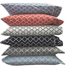 Meridian Printed 100% Cotton Pillowcases,Percale 250TC Pillow Cases Set