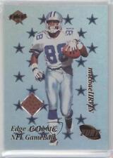 1999 Collector's Edge Fury NFL Game Ball #MI Michael Irvin Dallas Cowboys Card