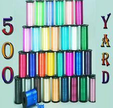 500 M CURLING(Balloon)RIBBON 25 Colours {fixed £2 UK p&p} Craft Wedding Birthday