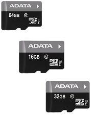 16GB/32GB/64GB Genuine Adata MicroSD SDHC TF Memory Card C10 free shipping