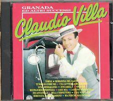 CLAUDIO VILLA CD made in ITALY Granada e altri successi