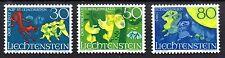 Liechtenstein 1968 Sagen Mi. 497-99 MNH