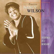 FREE US SHIP. on ANY 2+ CDs! ~LikeNew CD Pastor Nancy Wilson: Designed for Worsh