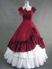 Victorian Belle Fantasy Fairytale Dress Ball Gown Period Halloween Costume