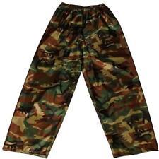 Para Hombres Pantalones de lluvia adultos Camo Showerproof