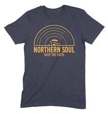 Northern Soul mantenere la fiducia RICAMATO BADGE PESA Polo T-Shirt Rosso