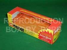 Corgi #391 James Bond Ford Mustang - Reproduction Box by DRRB