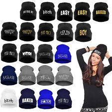 COMME / HIGH / FUCKDOWN  Hat Mütze BEANIE Viele Muster Herren / Damen Unisex Neu