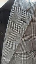 """Hugo James príncipe de Gales cheque Traje Chaqueta Reg 50"""" 52"""" 54"""" 56"""" 58"""" 60"""" 62"""" 64"""" 66"""""""