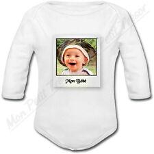 Body Bébé Cadre Photo Polaroïd personnalisé avec votre photo