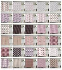 London Pattern Shower Curtain Fabric Decor Set with Hooks 4 Sizes