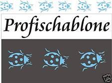 Kinderschablone, Wandschablone, Schablone, Malerschablone, Wanddeko, Marienkäfer