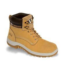 V12 Puma Safety Boots VR602 Honey Nubuck Toecap & Midsole