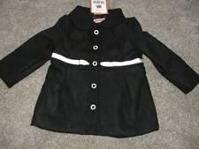 Gymboree Baby Girls 6-12 12-24 month Olivia Black Dress Coat 12-18 18-24 mos NWT