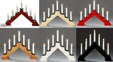 PONTE DI CANDELA LUCE 7 LAMPADINA Finestra Decorazione Di Natale Luce Ponte ad arco