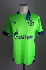 Schalke 04 Trikot Gr. S M L XL 2XL 3XL 2018-2019 Third grün Umbro jersey S04