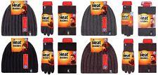 Heat Holders - Uomo Invernale Termico Caldo Pile Guanti Cappello Scaldacollo Set