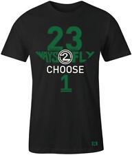 """23 Ways 2 Fly"" T-shirt to Match Retro ""Pine Green"" 1's"